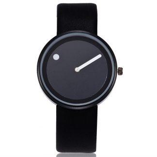 Reloj negro moda
